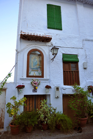 drinkable: Picturesque corner in the village of Lanjaron, Alpujarras of Granada, Andalusia, Spain