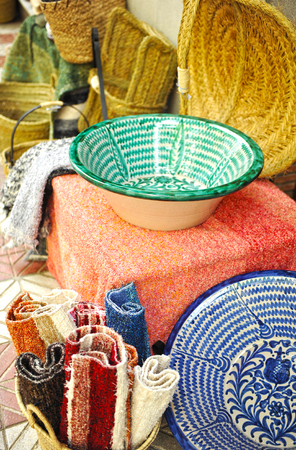 alpujarra: Crafts typical of the region of the Alpujarra in the province of Granada, Spain Stock Photo