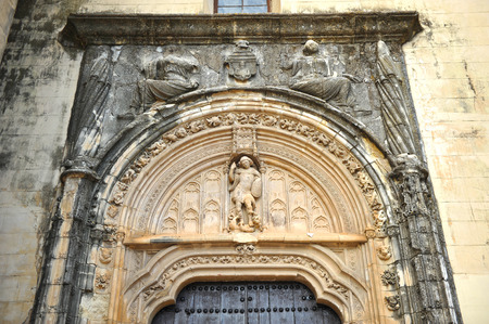 saint michael: Lucena, Saint Michael Gate from the church of Saint Matthew, province of Cordoba, Spain