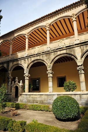 charles county: Cloister of the Monastery of Yuste, retirement of Emperor Charles V, Cuacos de Yuste, Extremadura, Spain