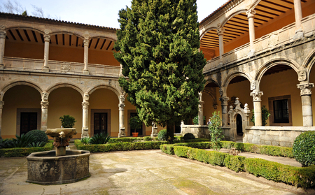 charles county: Retirement of Emperor Charles V, Cloister of the Monastery of Yuste, Cuacos de Yuste, Extremadura, Spain