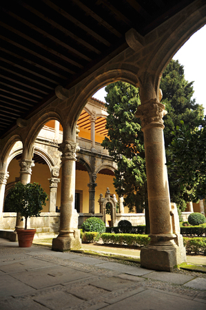 charles county: The renaissance cloister of the Monastery of Yuste, Cuacos de Yuste, Extremadura, Spain