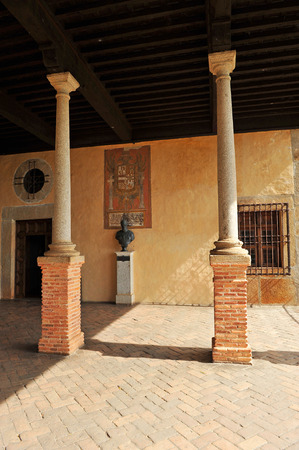 charles county: Gallery, Bust of Emperor Charles V in the Monastery of Yuste, Caceres Province, Extremadura, Spain
