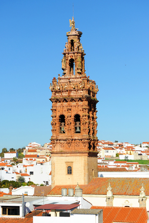 saint michael: Tower of Saint Michael, Jerez de los Caballeros, province of Badajoz, Spain