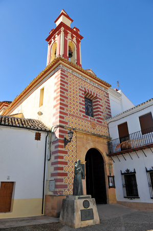 ronda: Church of Our Lady of Peace, Ronda, Malaga Province, Andalusia, Spain