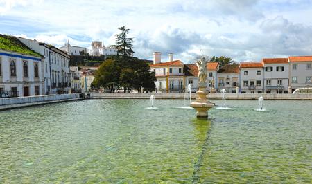 lago: Estremoz, Lago da Gadanha, Alentejo, Portugal, South of Europe Stock Photo