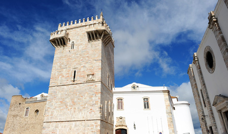 homage: Homage Tower or Tower of the three crowns in the Castle of Estremoz, Alentejo, Portugal