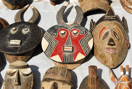 sunday market: African masks, the flea market