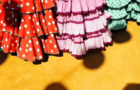 colleen: Gypsy costumes for the fair of Seville, Andalusia, Spain