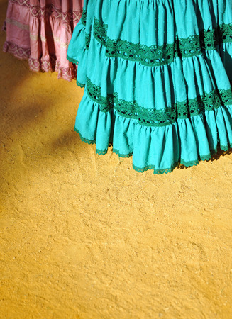 colleen: Traditional costumes at the fair of Seville, Andalusia, Spain