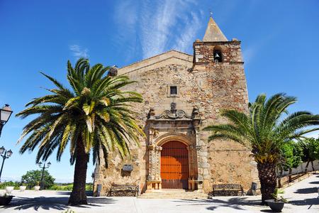 andrew: Via de la Plata, Church of Saint Andrew, Aljucen, province of Badajoz, Spain