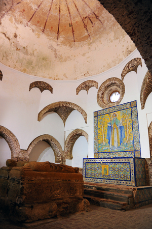 badajoz: Chapel of the Maestres, Monastery of  Tentudia, Calera de Leon, Badajoz, Spain
