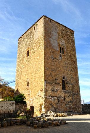 donjon: Donjon, Castle of Priego de Cordoba, Andalusia, Spain Editorial
