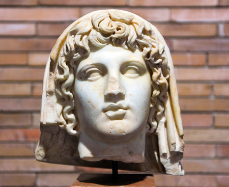 emperor: Octavian Augustus, Roman emperor, Roman sculpture, Merida, Spain