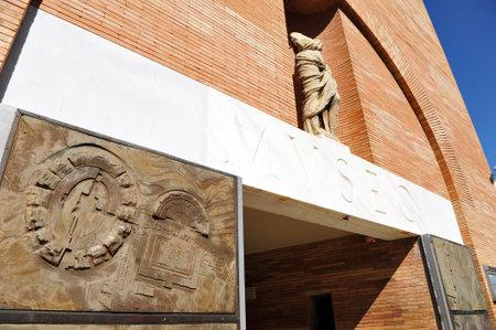 augusta: Museum of the Roman city of Emerita Augusta, Merida, Badajoz Province, Extremadura, Spain Editorial