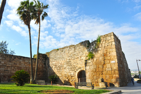 badajoz: Arab Alcazaba from Merida, Badajoz province, Spain