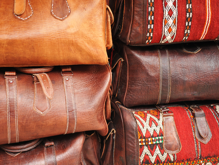Travel bags, leather goods