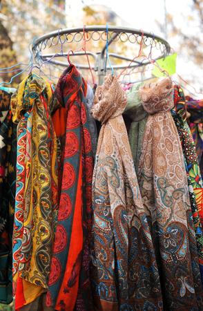 scarves: Foulards, colorful scarves