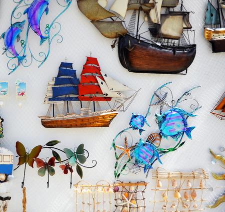 sailing boats: Gift shop of marine objects, sailing boats