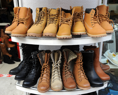 leather boots: Footwear for winter, leather boots for sale