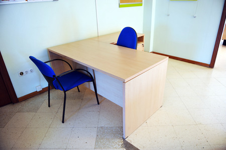 impersonal: Citizen service desk in an office of public administration