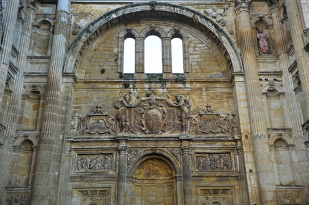 francis: Architecture of the Renaissance, Church of the Convent of Saint Francis, Baeza, Jaen province, Andalusia, Spain Stock Photo