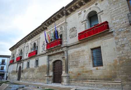 renaissance: City Hall of Baeza, Renaissance city, Jaen province, Andalusia, Spain