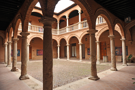 real renaissance: Fugger warehouse, Palace of Fucares, Almagro, province of Ciudad Real, Spain