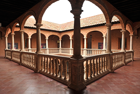 real renaissance: Palace of Fucares in Almagro, province of Ciudad Real, Spain