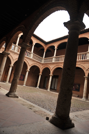 real renaissance: Almagro, Fucares Palace, province of Ciudad Real, Spain