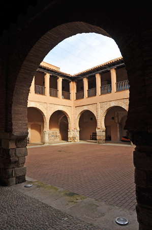 almagro: National Theatre Museum in Almagro, the cloister, province of Ciudad Real, Spain Editorial