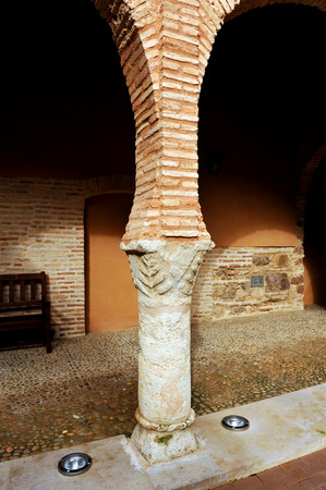 almagro: Cloister of the National Theatre Museum,  Almagro, province of Ciudad Real, Spain