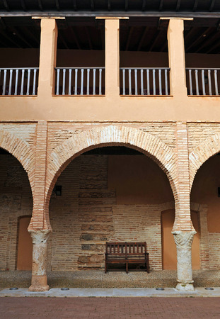 almagro: Almagro, Cloister of the National Theatre Museum, province of Ciudad Real, Spain