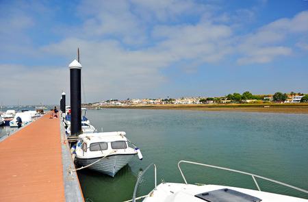 Marina of El Rompido, Huelva Province, Andalusia, Spain