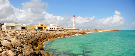 formosa: Culatra Island, Algarve, southern Portugal, Europe Stock Photo