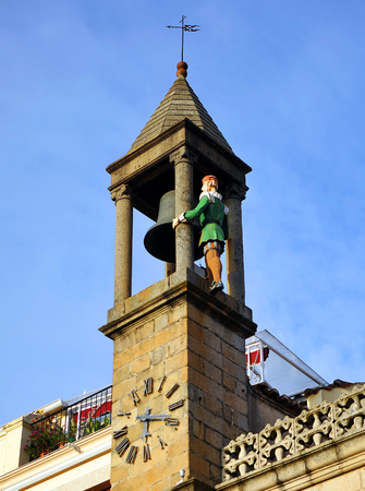 Grandfather Mayorga, City Hall in Plasencia, Caceres province, Spain