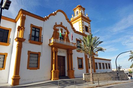 Public school, Campo del Sur in the city of Cadiz, Andalusia, Spain
