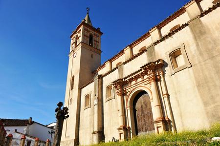 southern europe: Parish Church of Saint John the Baptist, Linares de la Sierra, province of Huelva, Andalusia, Spain, Southern Europe