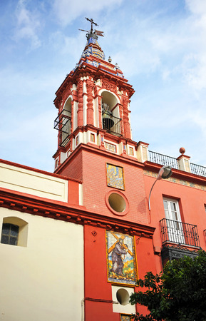 southern europe: Church of Our Lady of the O, Triana neighborhood, Seville, Andalucia, Spain, Southern Europe