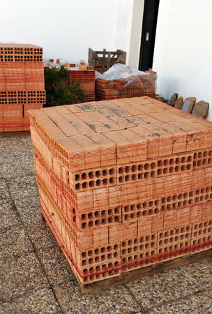 common room: Supply of bricks for construction, building materials