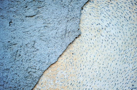 deteriorated: Decayed wall, abstract composition