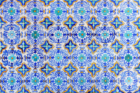 polychromatic: Decorative background, mosaic tiles, pattern