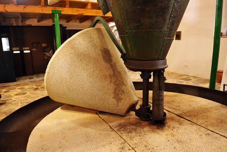 milling center: antique oil mill become ethnographic interpretation center, Canaveral de Leon, Huelva province, Spain