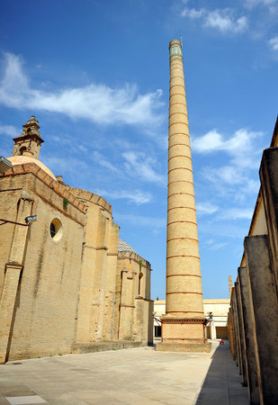 Pottery kilns in the carthusian monastery of Santa Maria de las Cuevas (Cartuja de Santa Maria de las Cuevas), Seville, Andalusia, Spain Stock Photo
