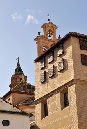 incarnation: Convent of the Incarnation and church of San Sebastian in Antequera province of Malaga, Spain