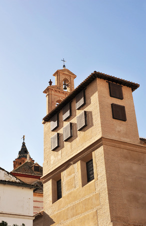 Convent of the Incarnation and church of San Sebastian in Antequera province of Malaga, Spain