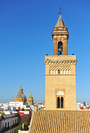 marcos: Mudejar Church of San Marcos, Seville, Andalusia, Spain
