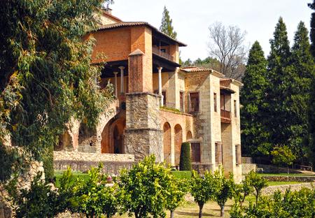 Le monastère de Yuste, la retraite de l'empereur Charles V, Cuacos de Yuste, Estrémadure, Espagne Banque d'images - 64382827