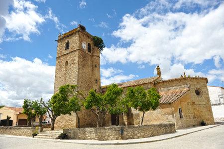 San Martin de Tours church, Aldea del Cano, Caceres province, Spain
