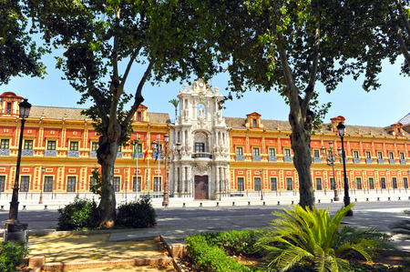 presidency: San Telmo Palace, seat of the presidency of the Andalusian government, Seville, Andalusia, Spain.